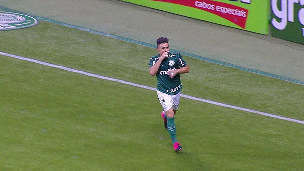 Os gols de Palmeiras 1 x 1 Ferroviária pelo Campeonato Paulista