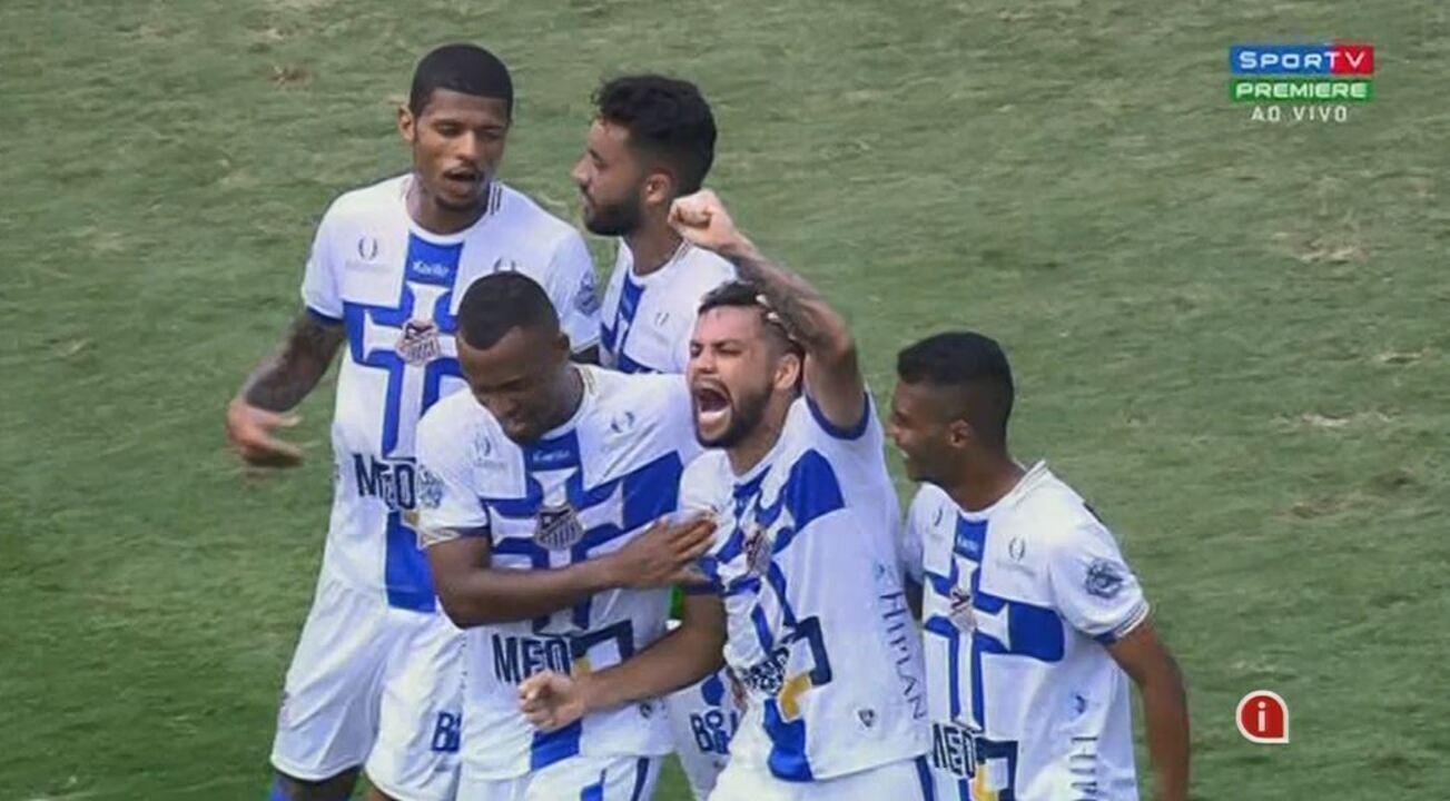 Os melhores momentos de Água Santa 1 x 1 Inter de Limeira, pela 9ª rodada do Paulistão