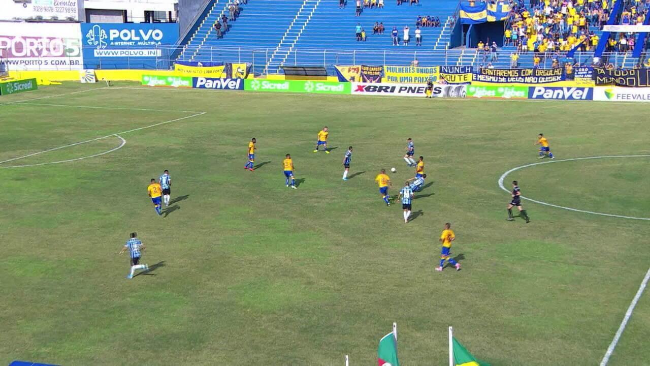 Confira os melhores momentos entre Pelotas 0x1 Grêmio