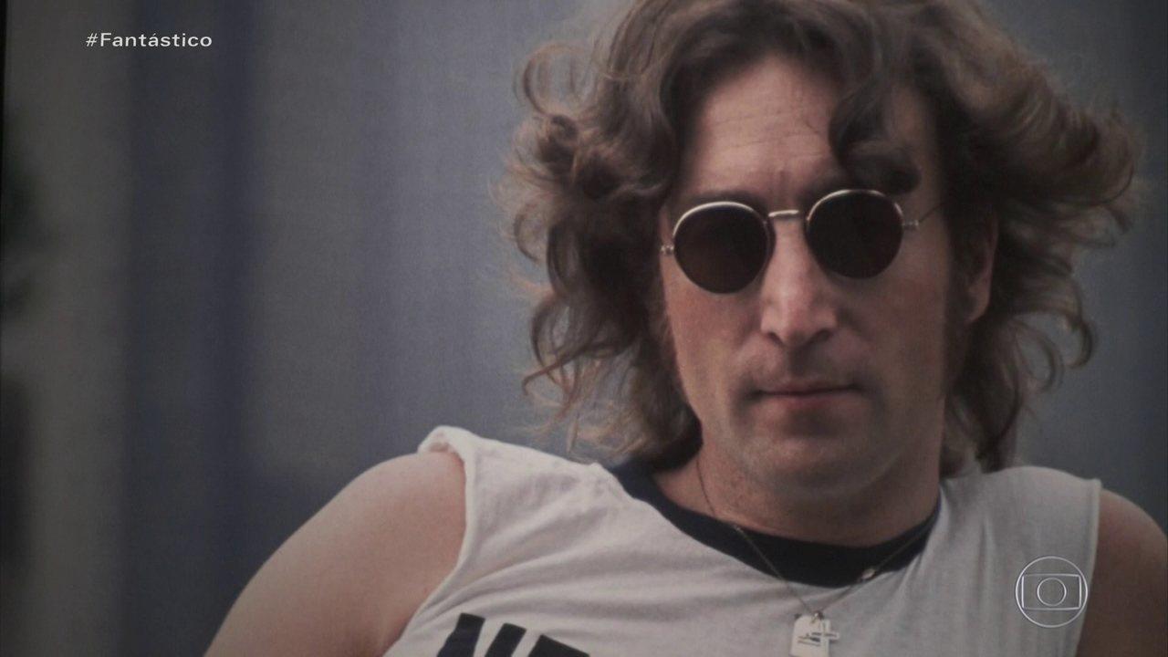 Exposição inédita leva fotos raras de John Lennon a São Paulo; veja em primeira mão