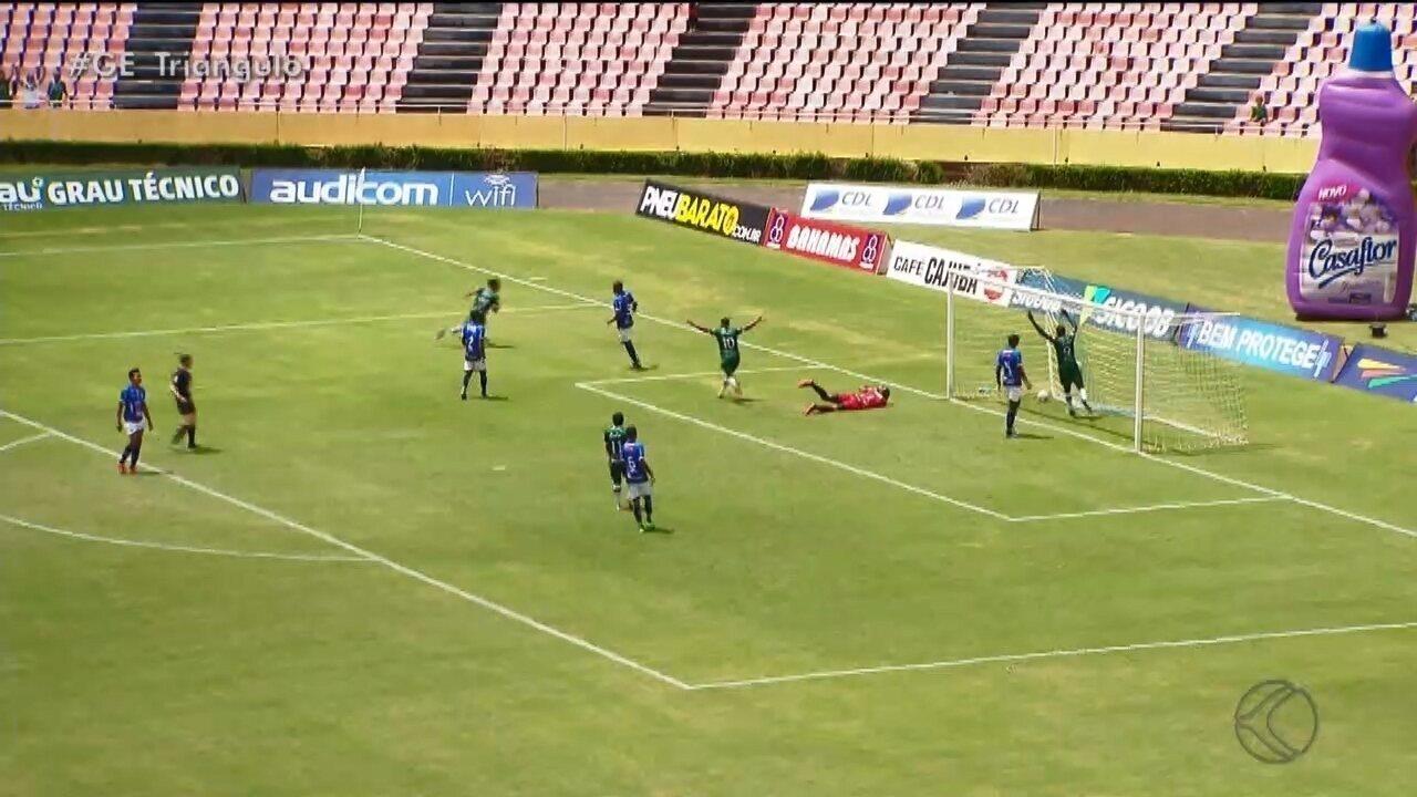 Uberlândia Esporte vence clássico contra URT e sobe na tabela do Mineiro