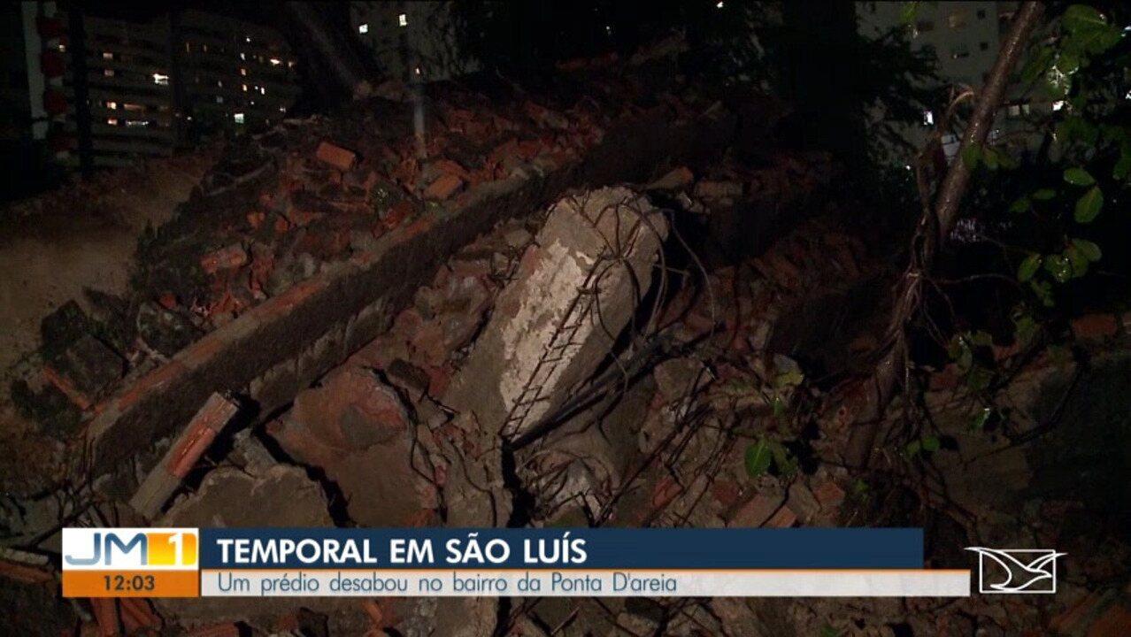 Temporal causa grandes estragos em toda a Região Metropolitana de São Luís