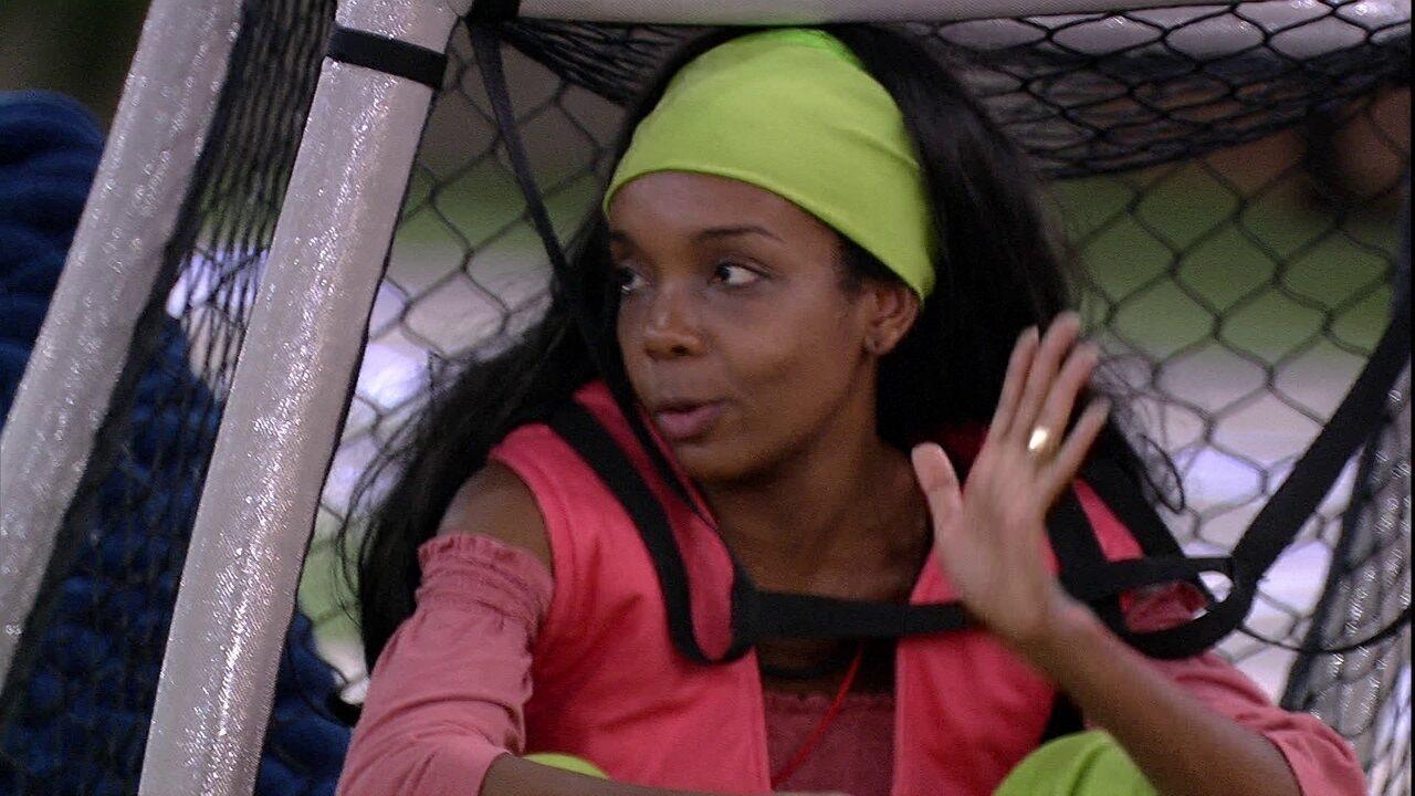 Thelma desabafa sobre Babu: 'Não acho que devo virar a cara para o Babu'