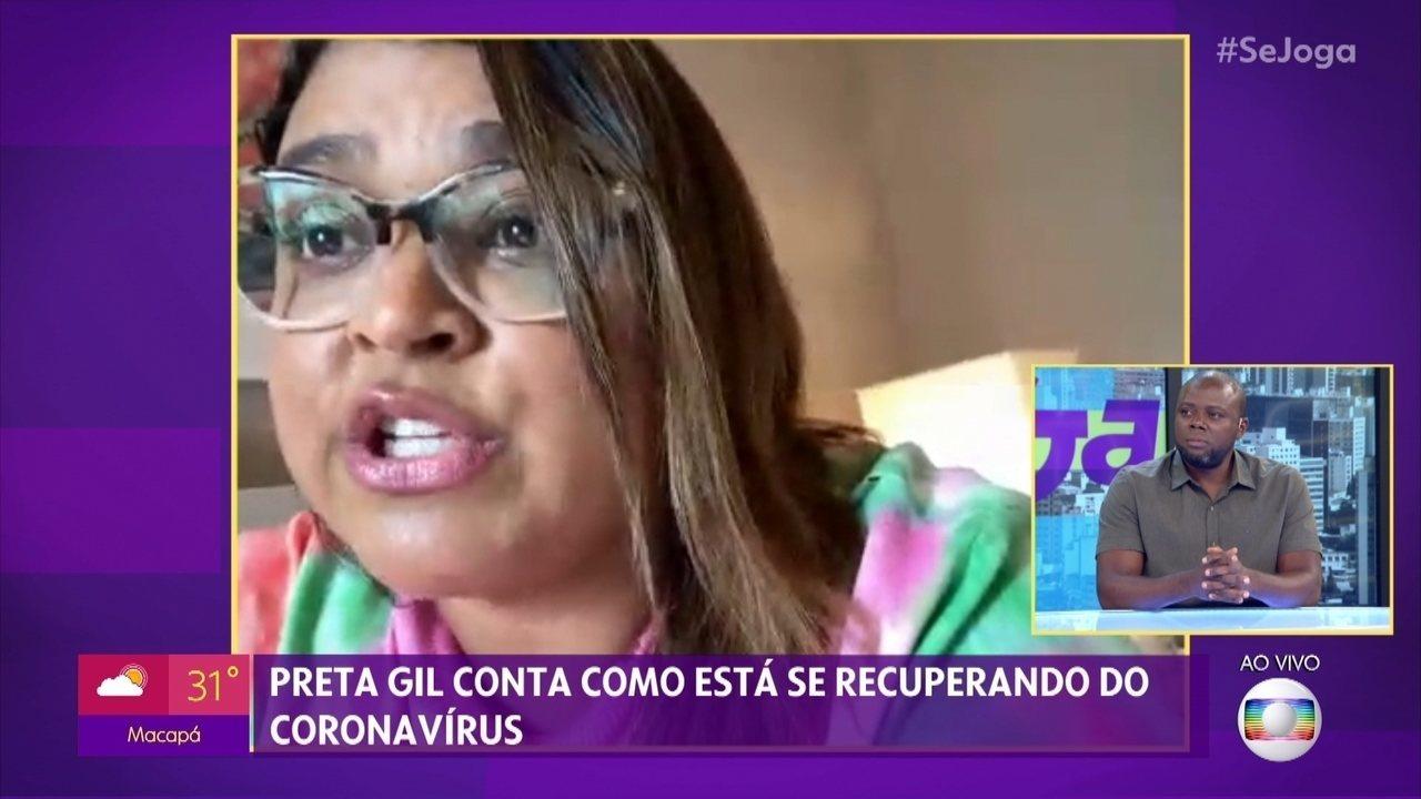 Fernanda Paes Leme e Preta Gil estão com Covid-19