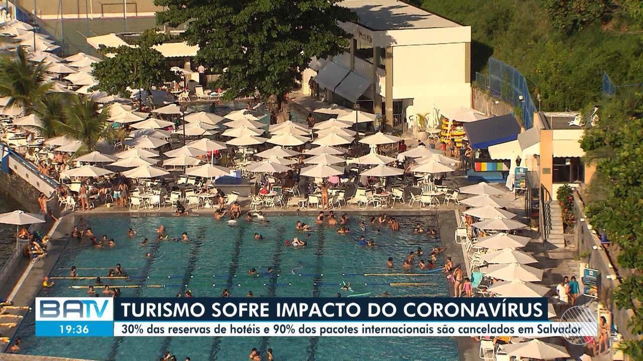 Pandemia do coronavírus impacta no setor de turismo de Salvador
