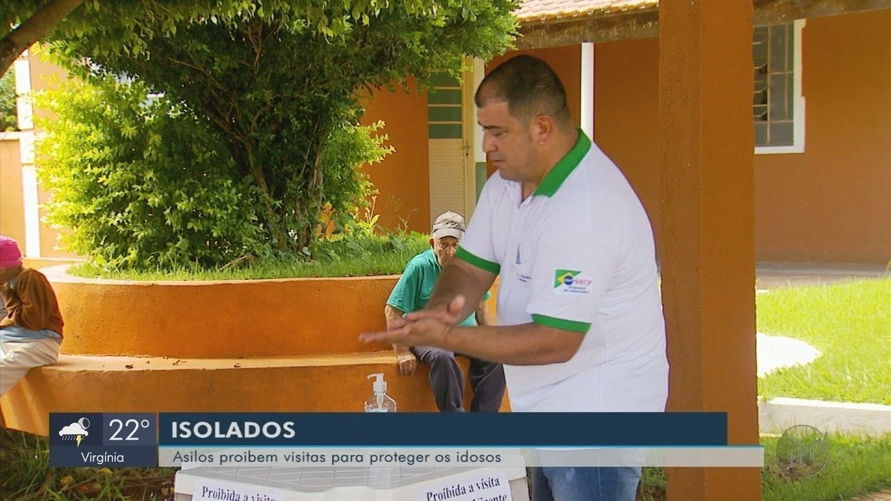 Asilos do Sul de Minas proíbem visitas até mesmo de familiares para evitar coronavírus
