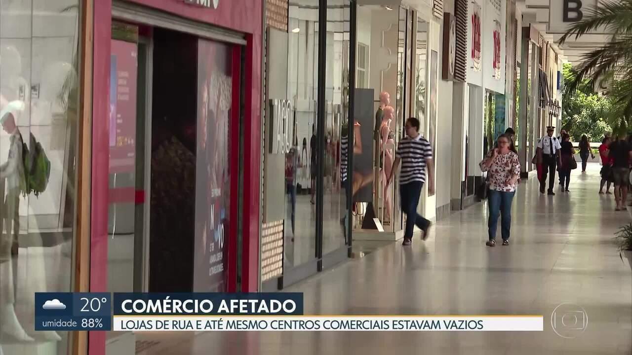 Comerciantes começam a sentir baixas no movimento de clientes por conta do coronavírus