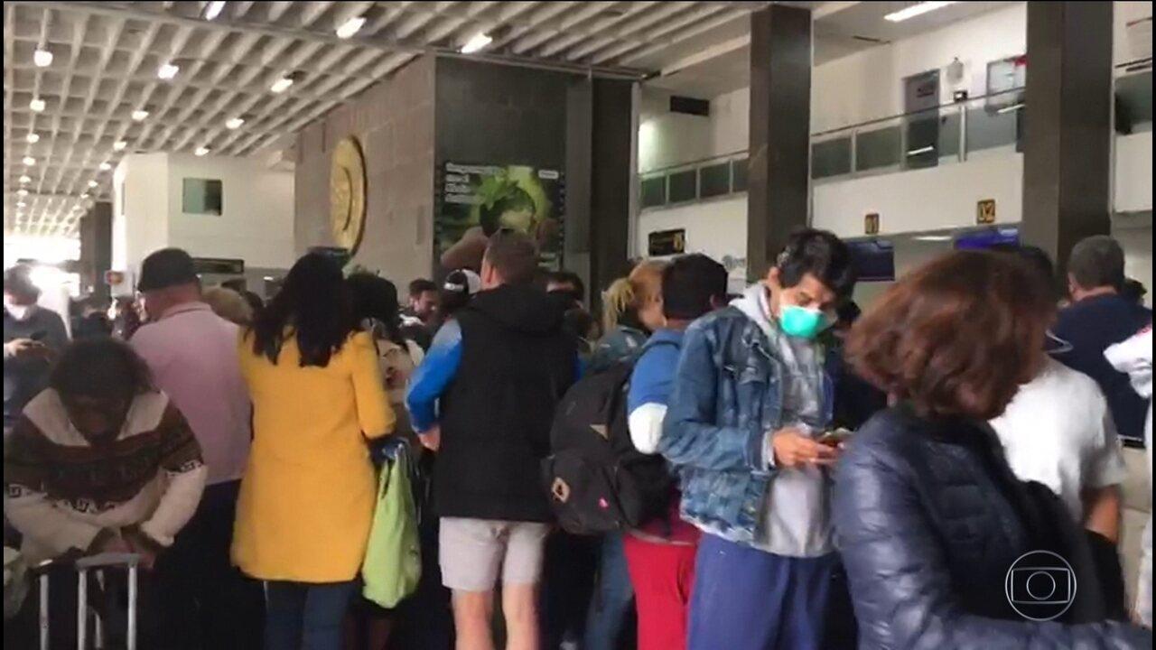 Peru fecha fronteiras; mais de 60 brasileiros estão presos em Cusco até o fim de março