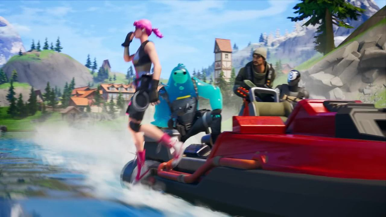 Here's the trailer for the new season of 'Fortnite'