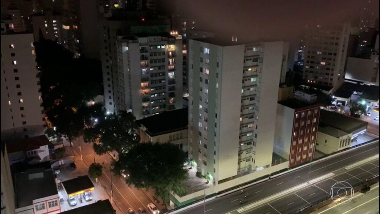 Cidades brasileiras registram panelaços contra o presidente Bolsonaro