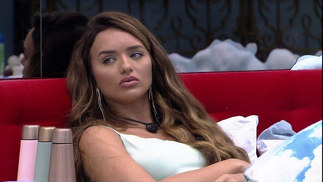 Rafa aconselha sisters: 'Essa perseguição com Babu e Felipe está muito pesada'