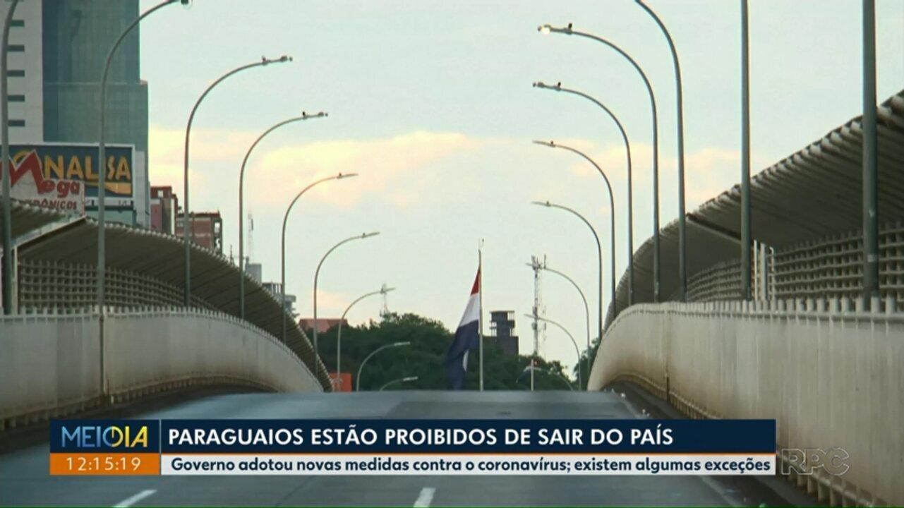 Governo paraguaio bloqueia entrada de pessoas pela Ponte da Amizade