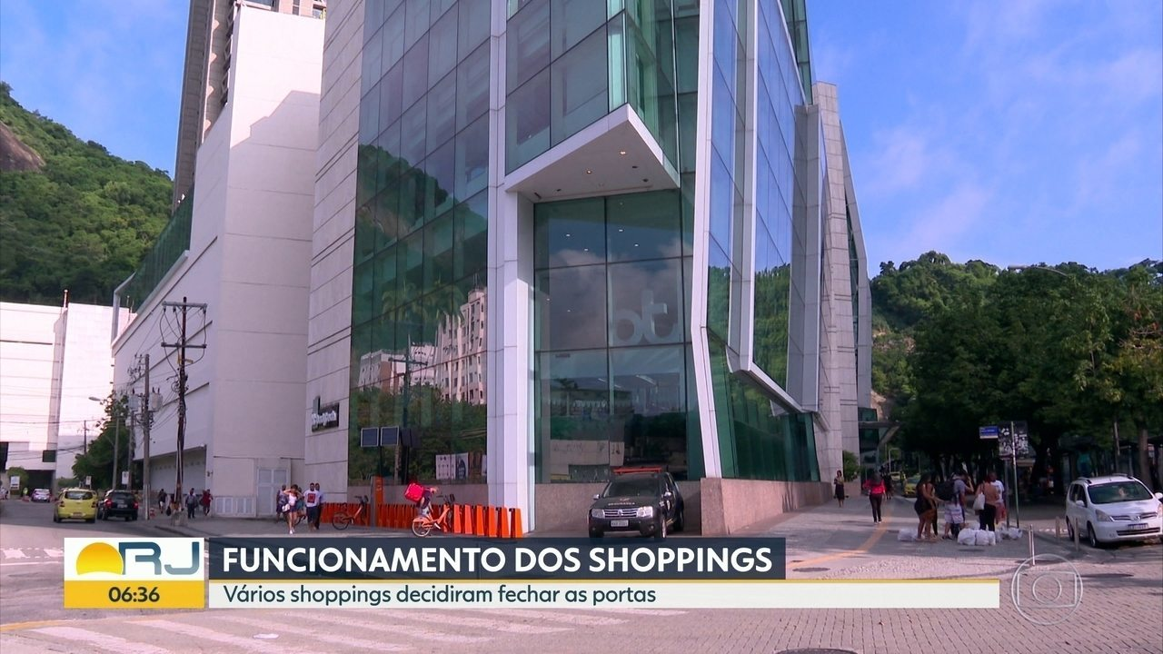 Shoppings voltam atrás e fecham, depois de decreto do governador