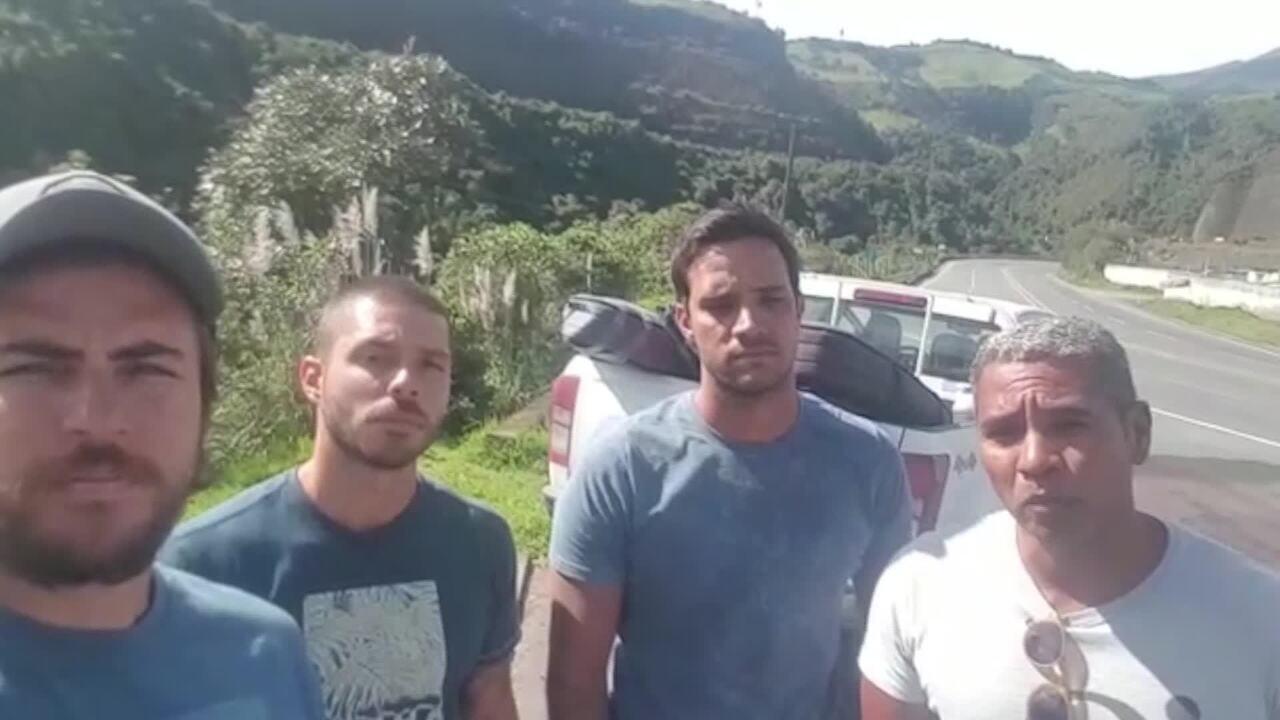 Surfistas no Equador clamam por retorno ao Brasil em meio à pandemia de coronavírus