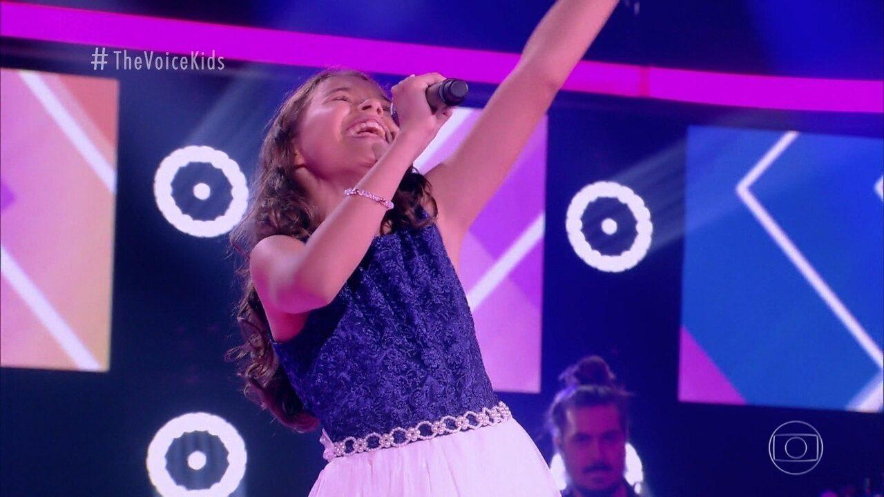 Melhores Momentos Audições às Cegas: Hellen Sandy canta 'Tente Outra Vez'