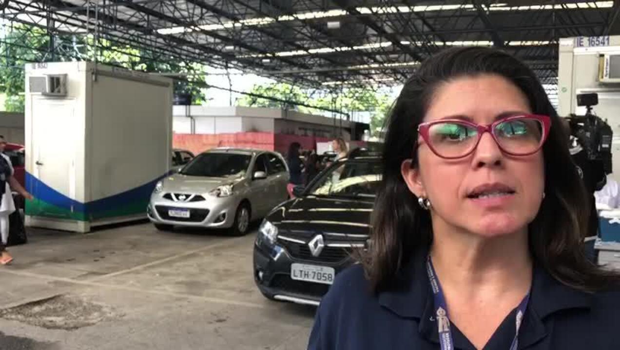 Cinco postos do Detran têm vacinação contra a gripe, no Rio