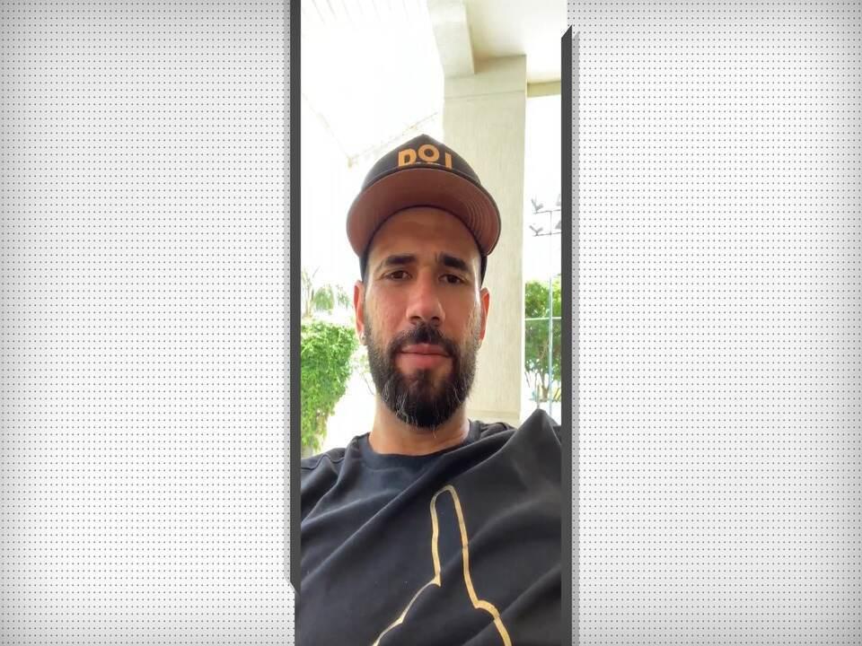 Leandro Castán envia mensagens carinhosas a torcedores do Vasco