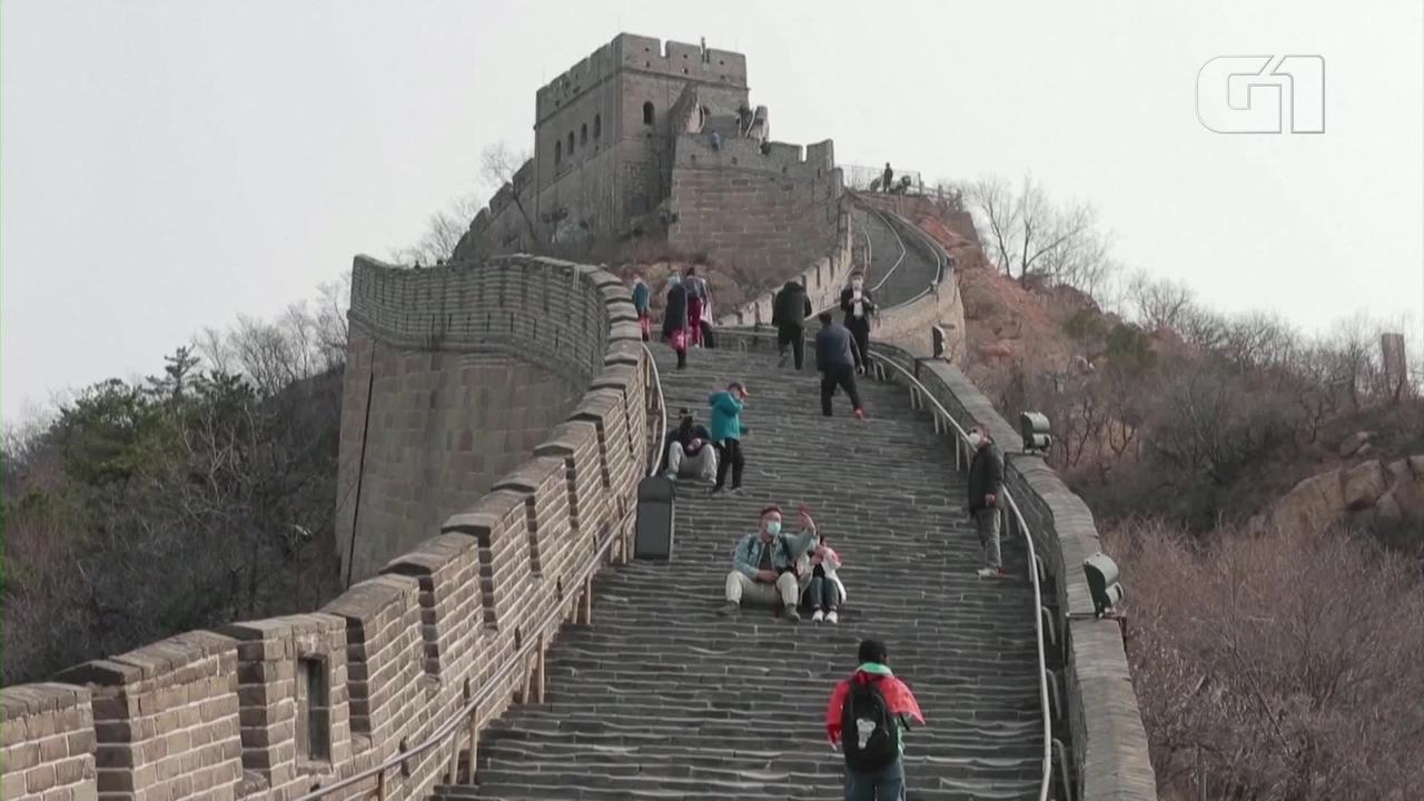 Trecho de Muralha da China é reaberto