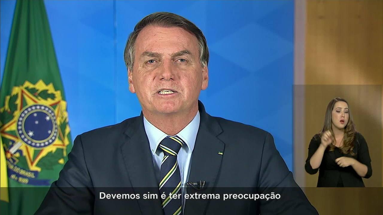 Resultado de imagem para Organizações afirmaram que discurso do presidente é um risco no combate à doença, que tem mais de 2 mil casos no Brasil e é causada pelo novo coronavírus.