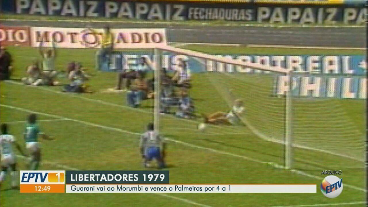 Guarani vai ao Morumbi e vence o Palmeiras por 4 a 1 na Libertadores de 1979