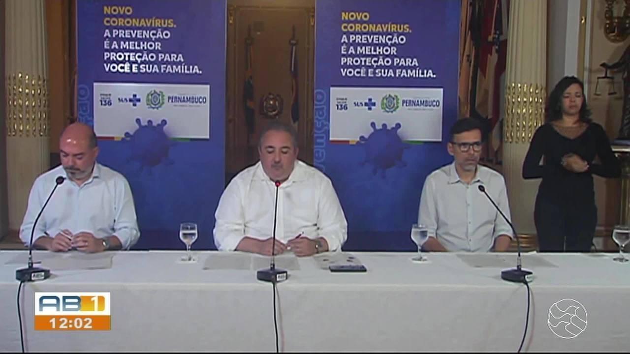 Pernambuco tem mais dois pacientes curados e não registra novos de casos de coronavírus