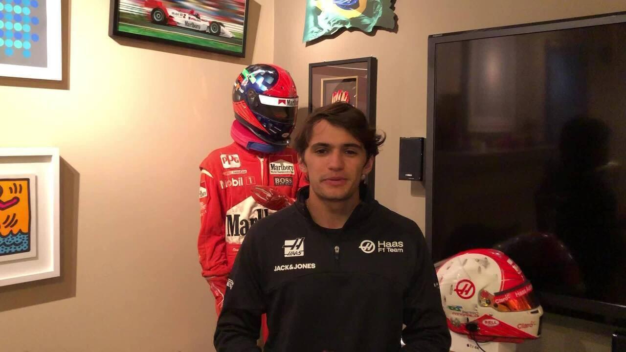 Pietro Fittipaldi assina contrato para ser piloto reserva da Haas