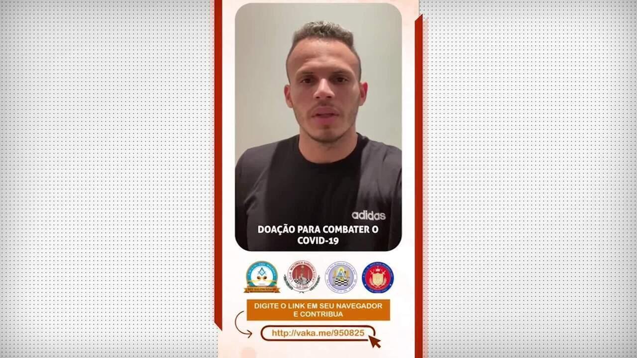 Renê faz campanha para ajudar um hospital no Piauí no combate ao Coronavírus