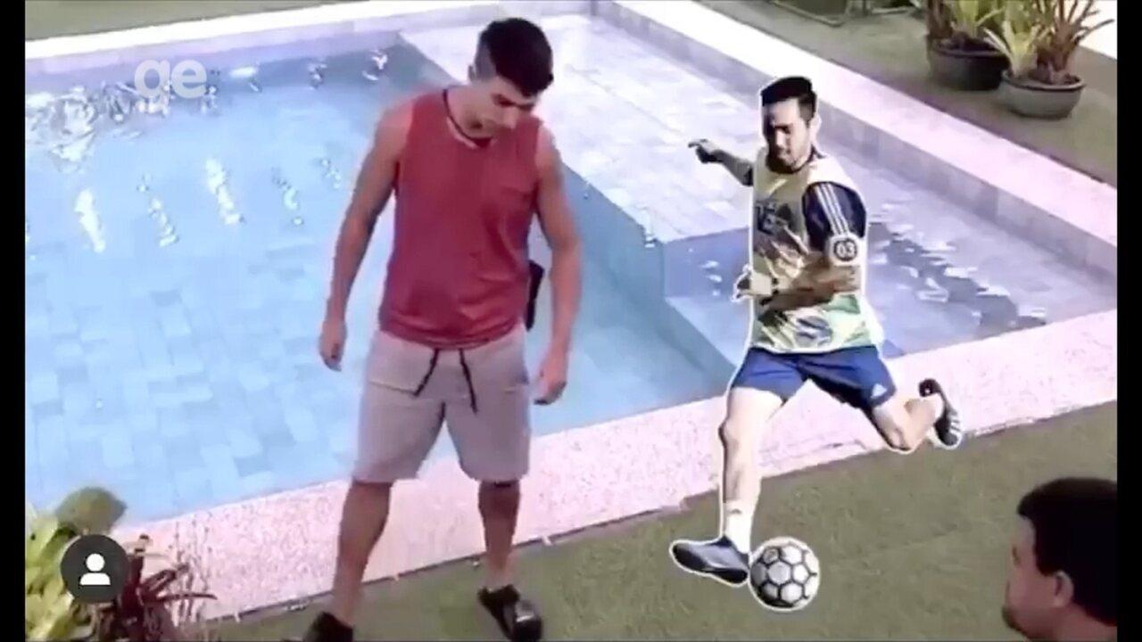 Conversa de Prior e Babu no BBB agita craques da seleção de futsal