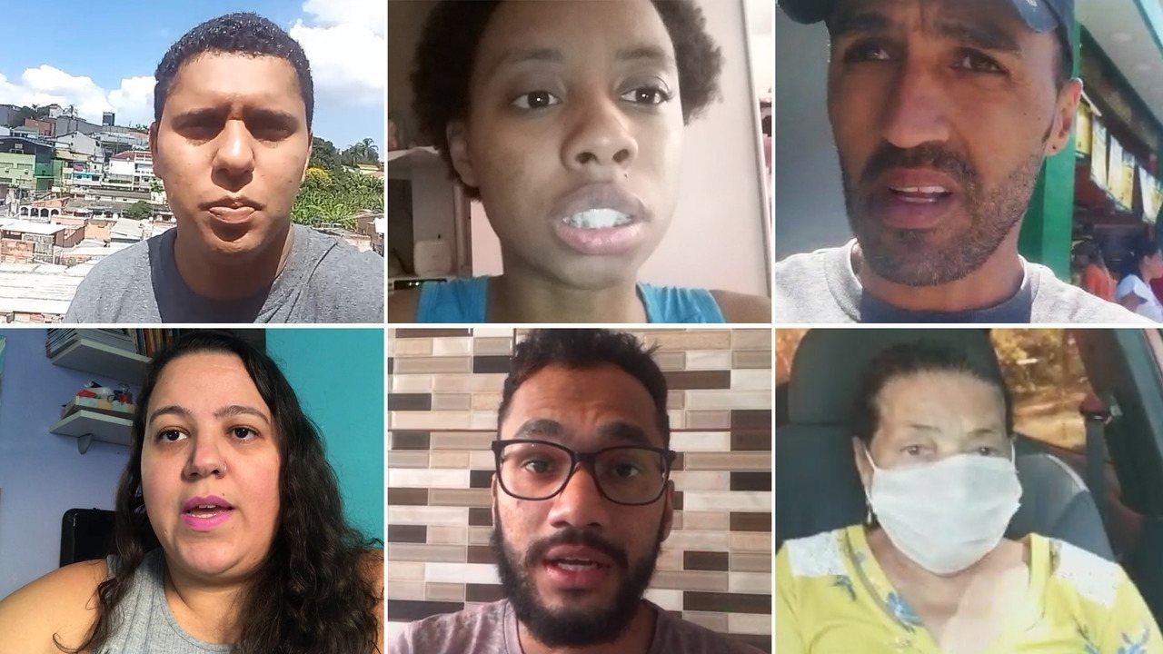Moradores do Capão Redondo, Zona Sul de SP, falam sobre clima de quarentena