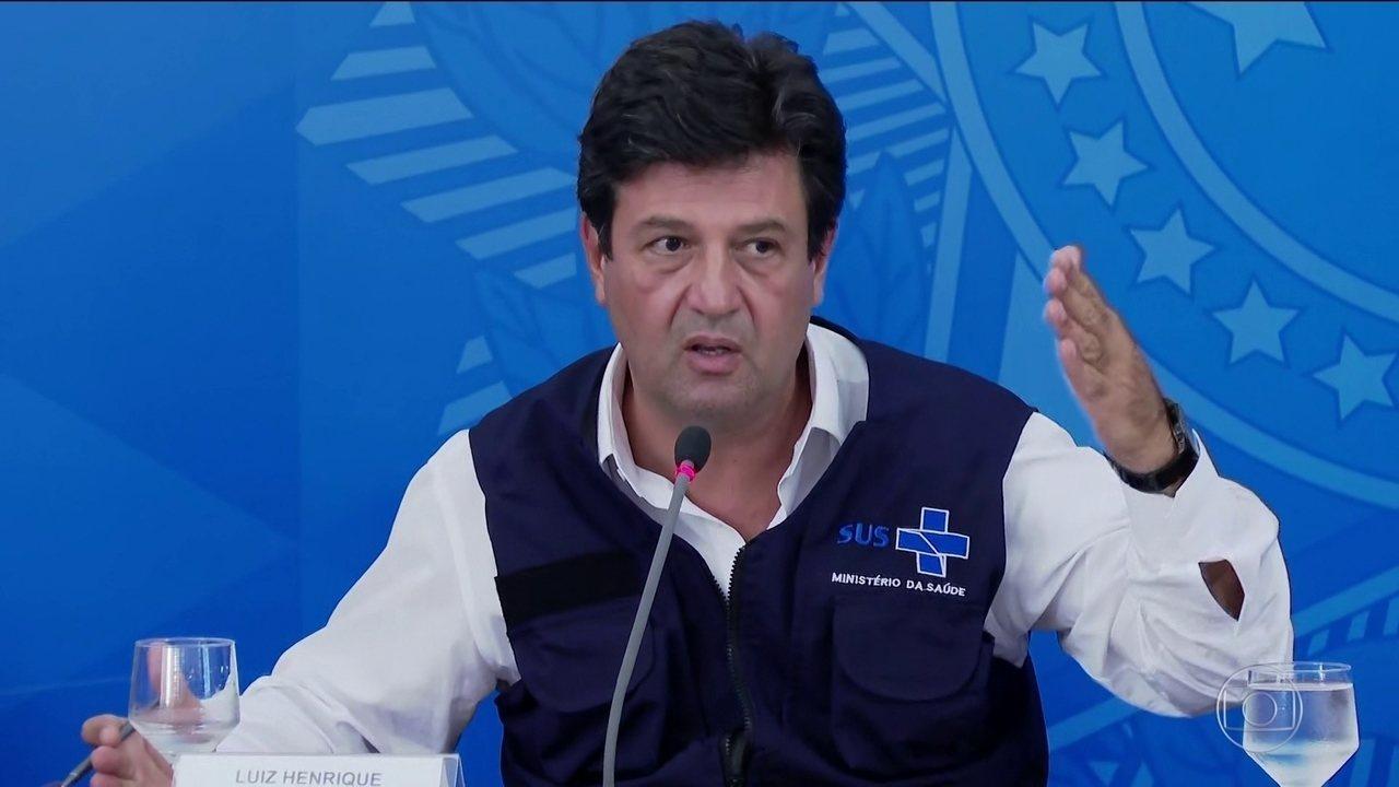 Um dia após passeio de Bolsonaro, Mandetta defende 'máximo grau de ...