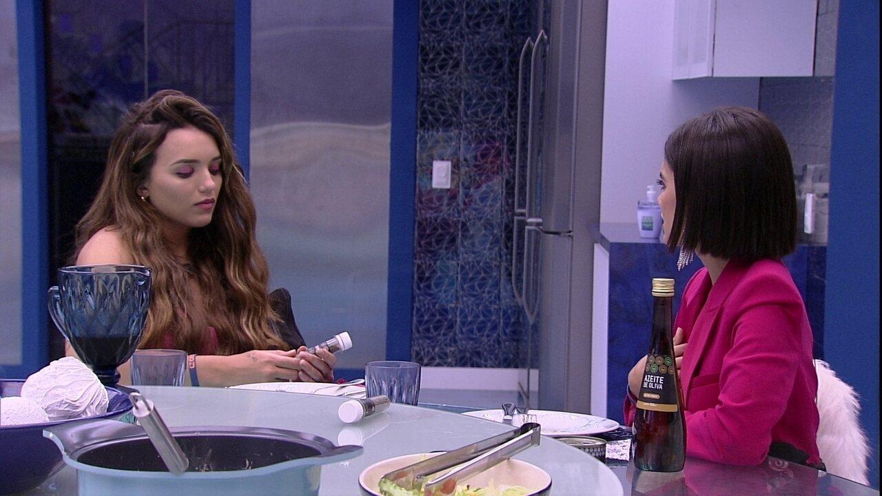 Rafa e Manu falam de sister: 'Isso que me deixa aflita'