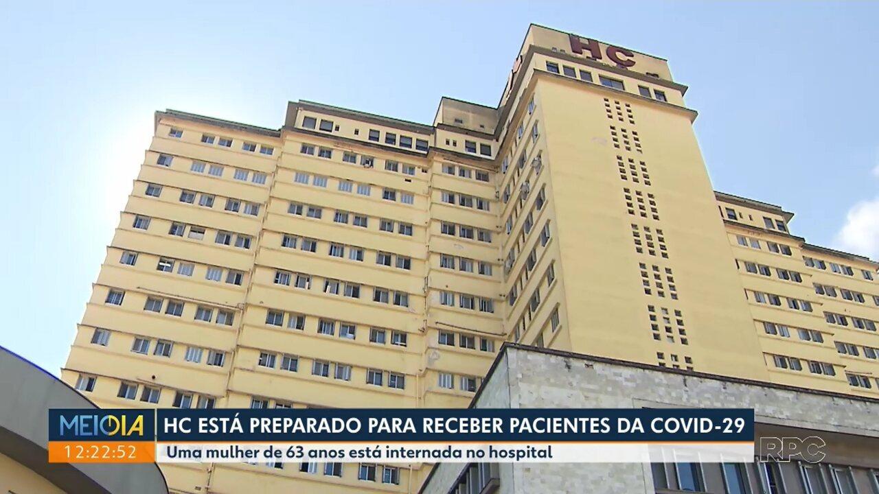 Hospital de Clínicas de Curitiba está preparado para receber pacientes com Covid-19