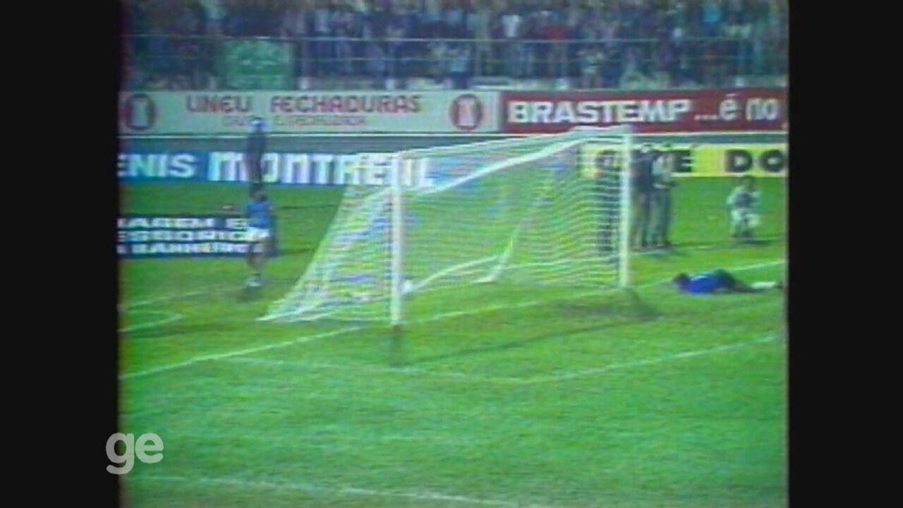 Guarani faz 6 a 1 no Universitário pela Libertadores de 1979