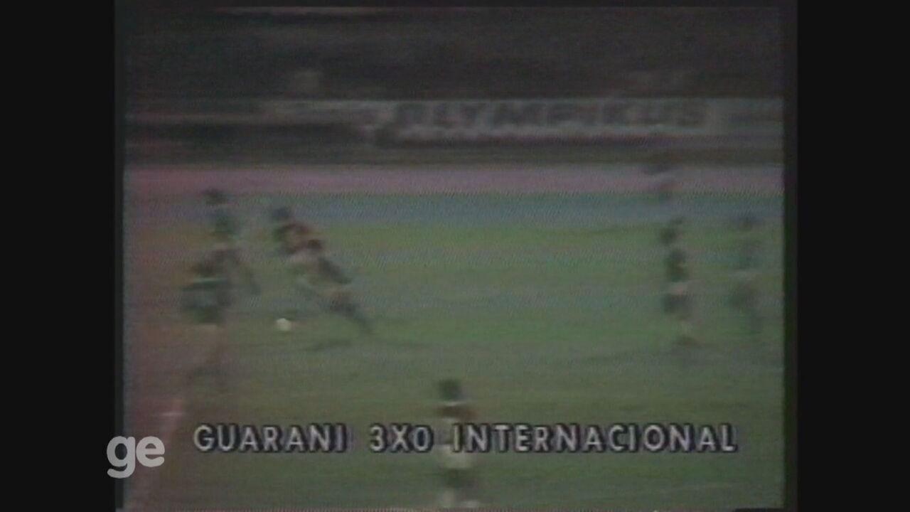 Guarani faz 3 a 0 no Internacional e começa arrancada para o título de 1978