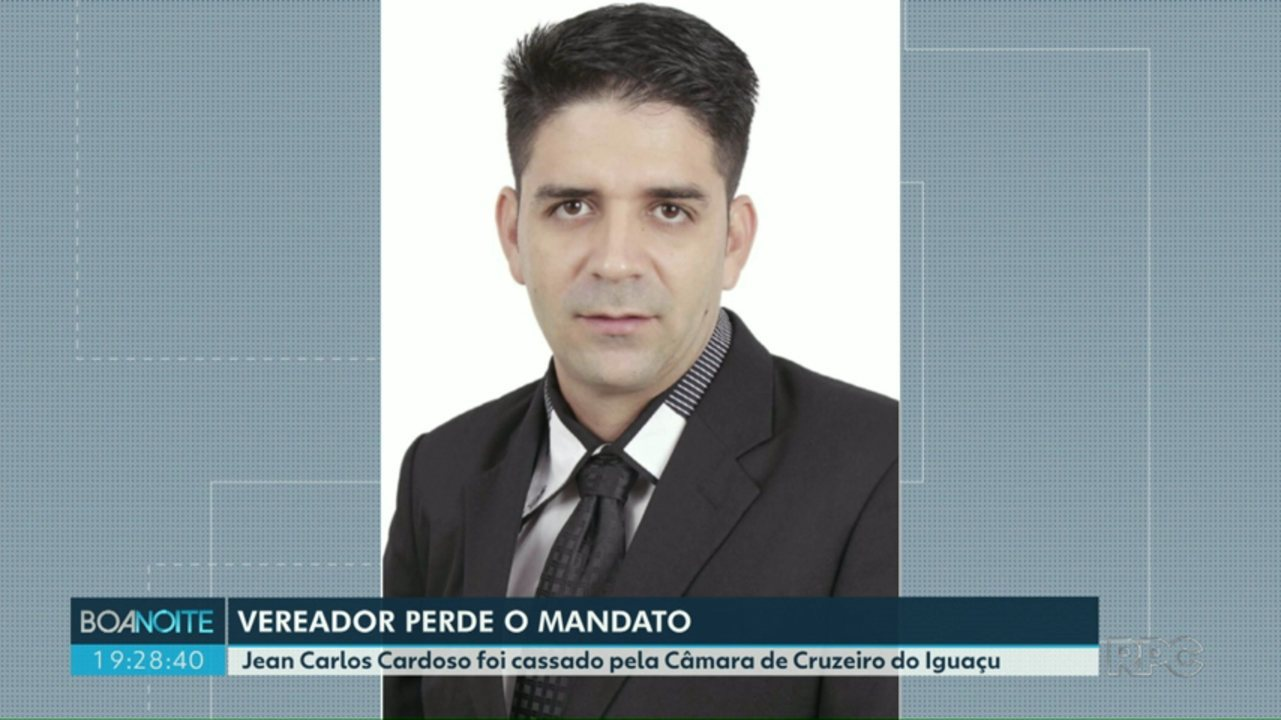 Vereador de Cruzeiro do Iguaçu perde mandato