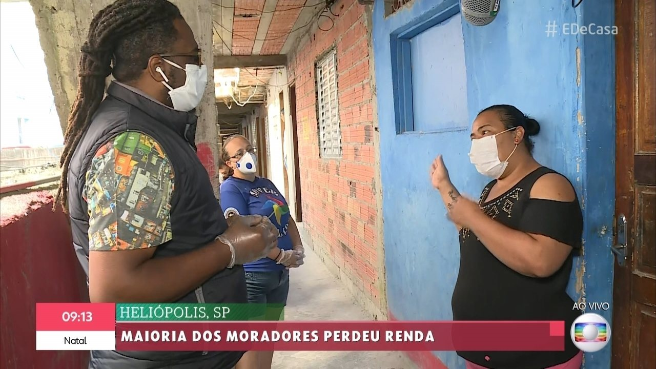 Heliópolis, SP: Maioria dos moradores perdeu renda