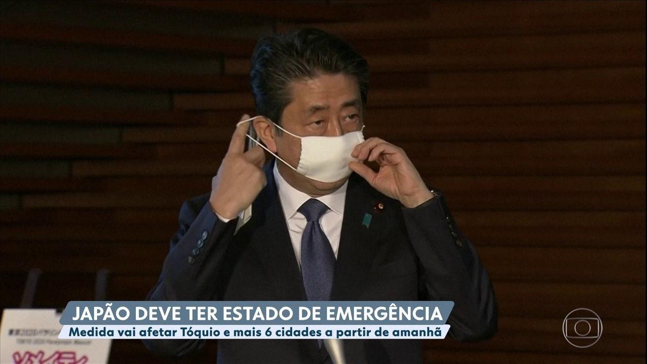 Japão deve ter estado de emergência decretado por conta do coronavírus