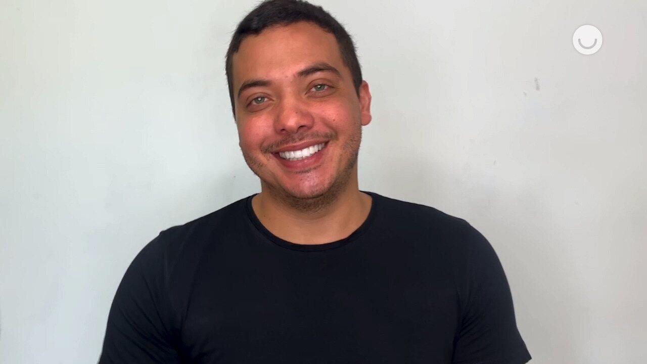 Wesley Safadão pede para relembrar última participação de Gabriel Diniz no Altas Horas