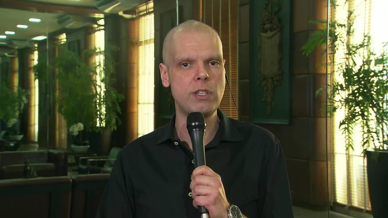 Bruno Covas, prefeito de São Paulo, fala sobre combate ao coronavírus