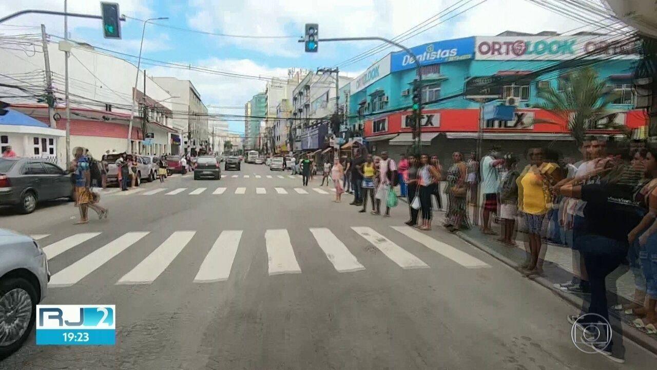 Parte da população de Caxias continua nas ruas mesmo com medidas de isolamento social