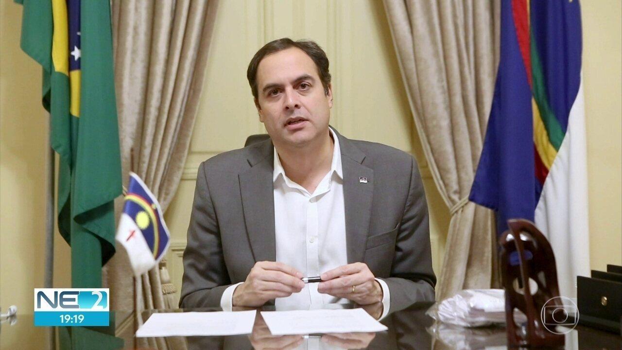 Pernambuco decreta obrigatório o uso de máscaras em quem trabalha com serviços essenciais