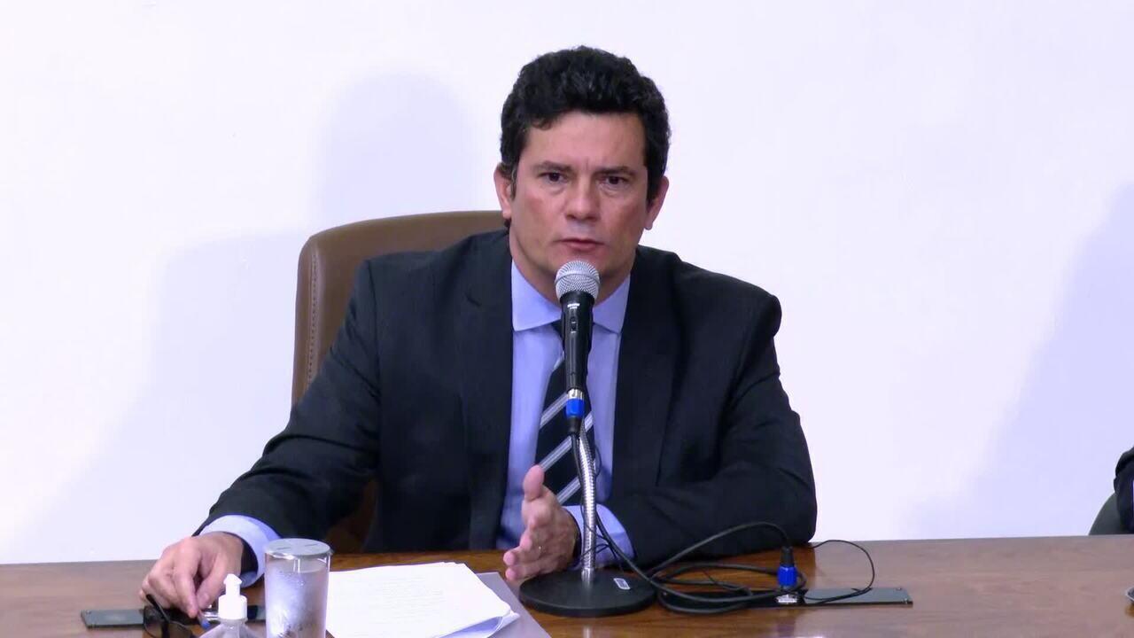'Não teria problema em trocar o diretor-geral, mas preciso de uma causa', diz Moro