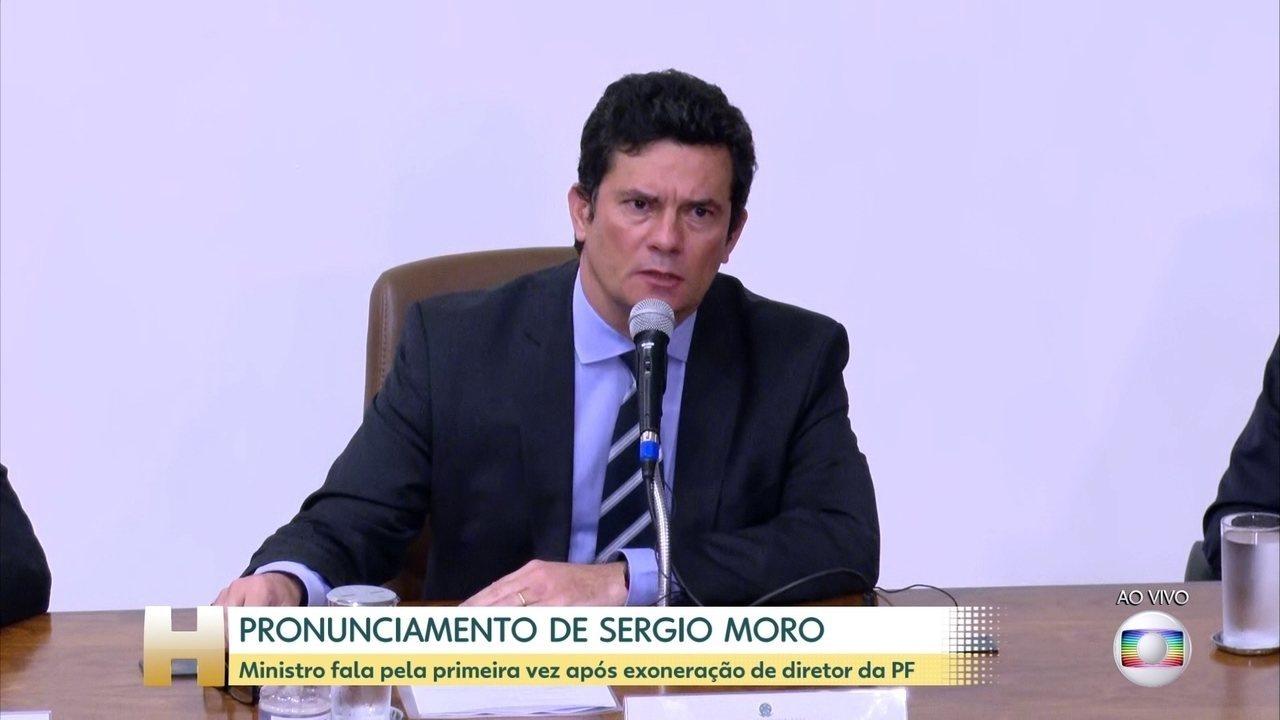Boletim: Sergio Moro pede demissão do Ministério da Justiça e Segurança Pública