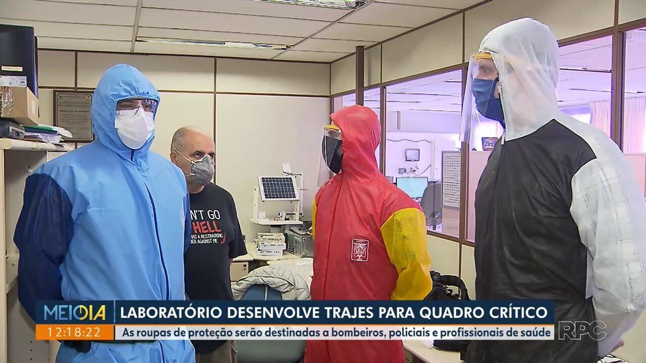 Laboratório desenvolve traje especial para bombeiros, policiais e profissionais da saúde