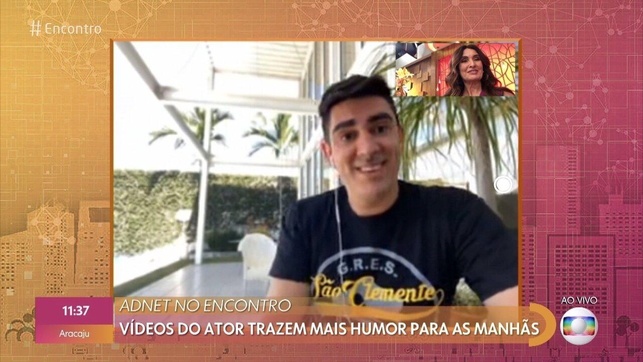 Marcelo Adnet fala sobre suas criações no isolamento social