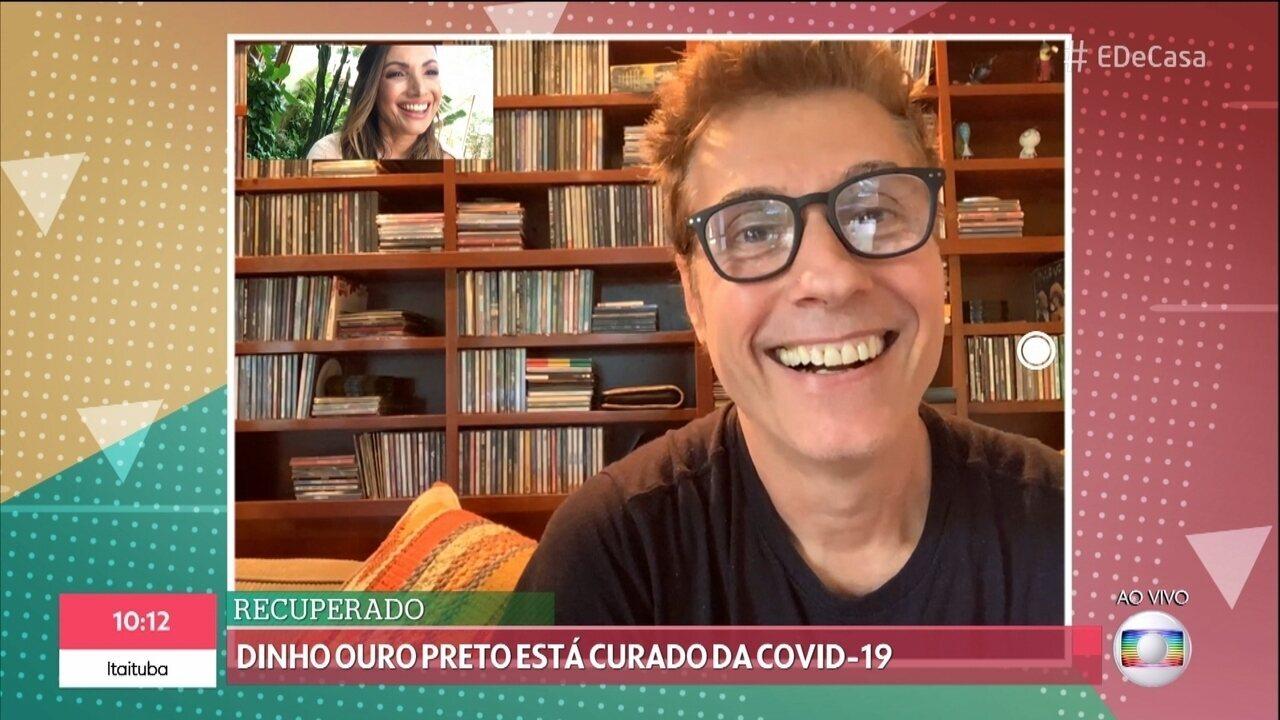 Dinho Ouro Preto conta que está curado da COVID-19
