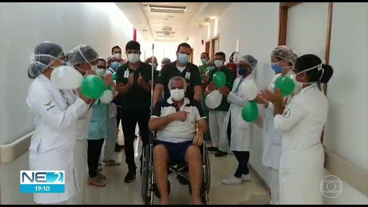Primeiro paciente diagnosticado no Recife com a Covid-19 tem alta médica