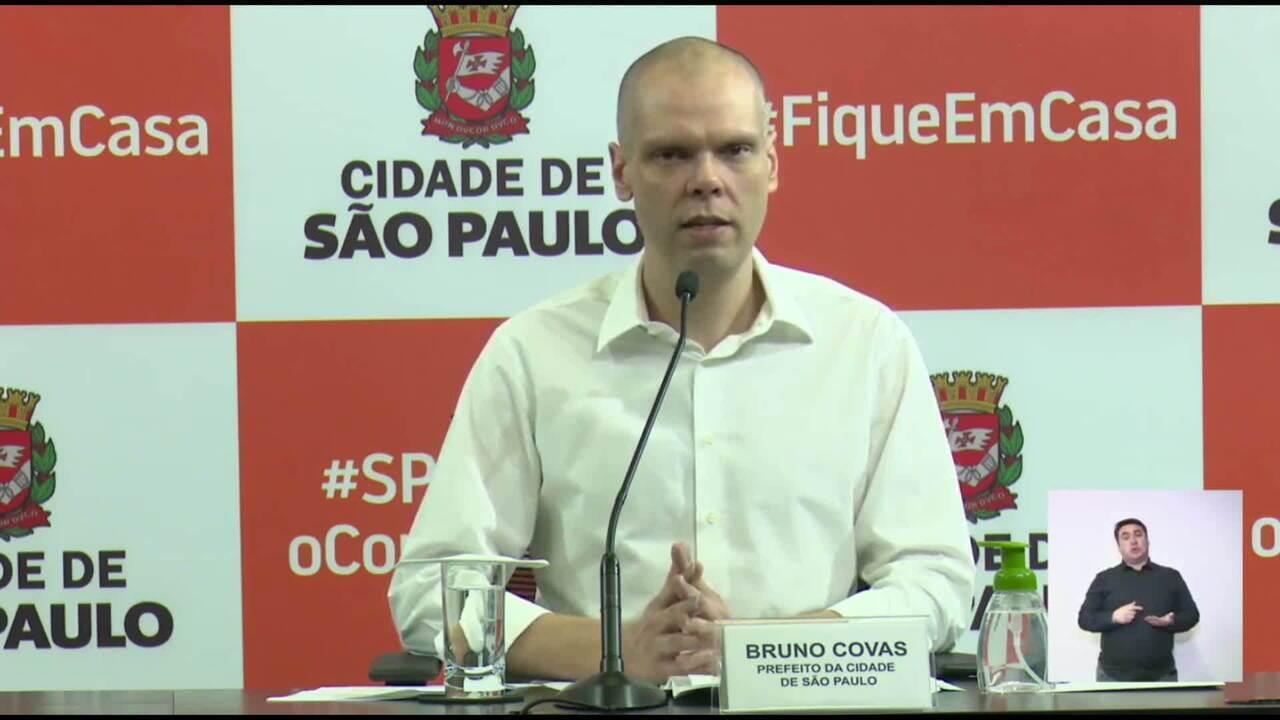 Bruno Covas anuncia retorno do rodízio de carros em SP: 'Ações já evitaram 30 mil mortes'