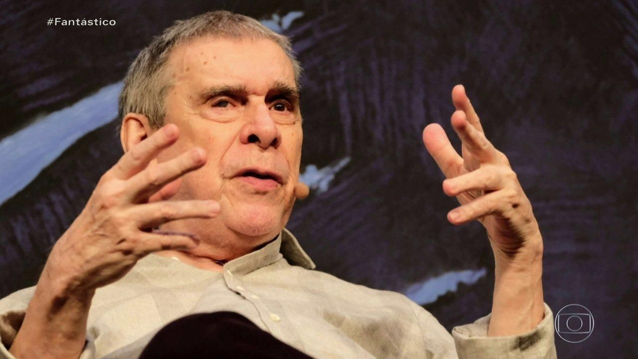 Escritor Sérgio Sant'Anna morre aos 78 anos vítima de Covid-19