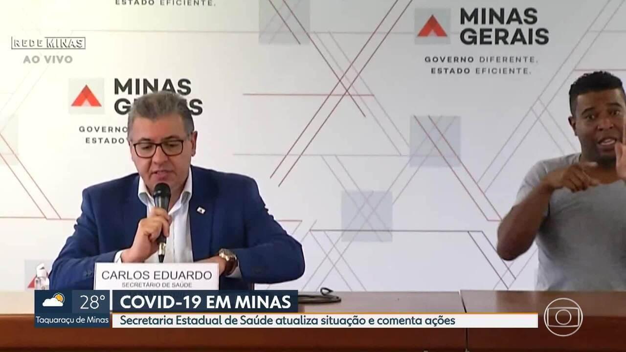 Governo atualiza situação da Covid-19 em Minas
